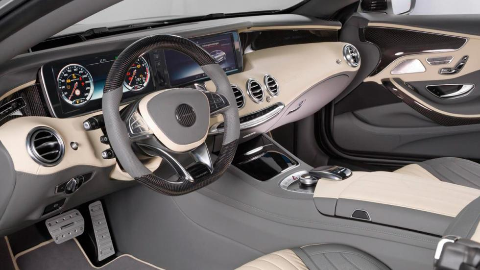 Mercedes S 63 AMG Coupé Mansory interior