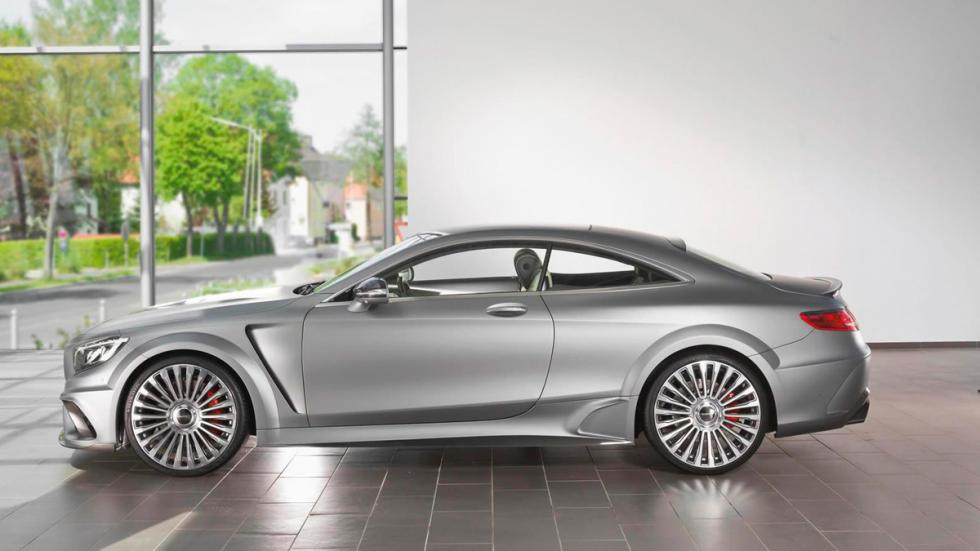 Mercedes S 63 AMG Coupé Mansory lateral
