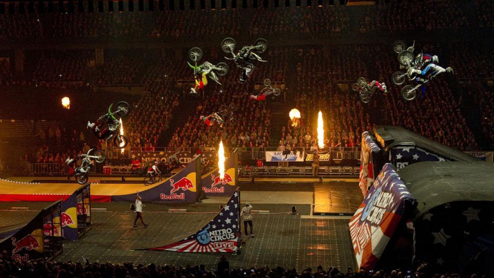 Nitro Circus en Madrid junio 2015