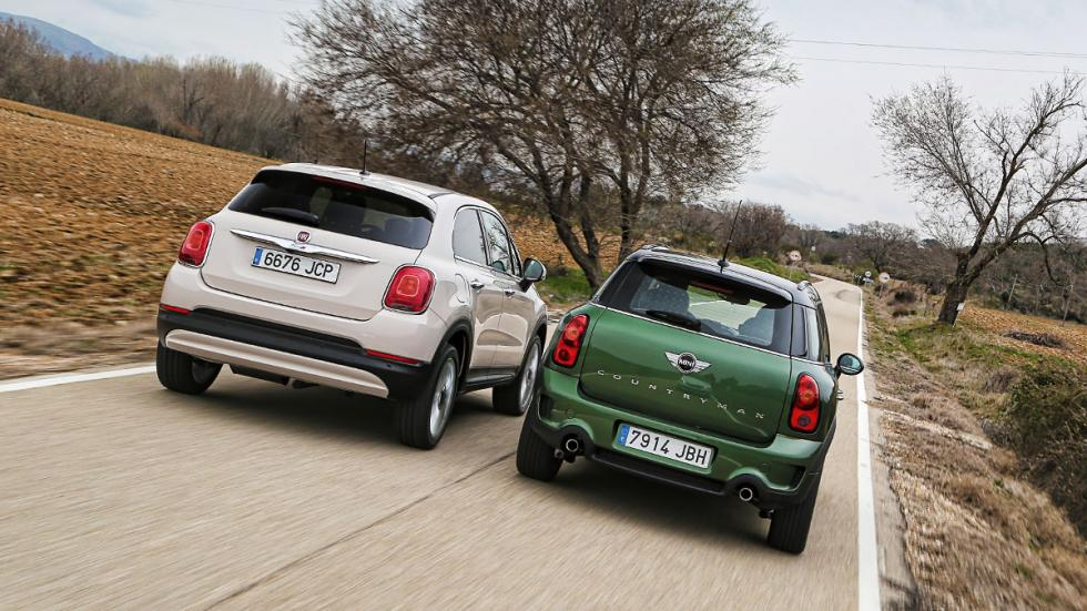 comparativa Fiat 500x y Mini Countryman