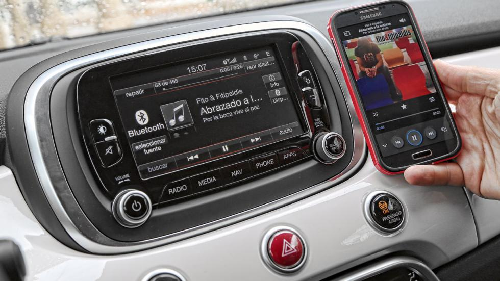Conectividad Fiat 500X