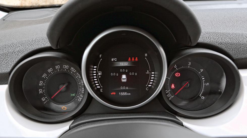 Cuadro de mandos Fiat 500X