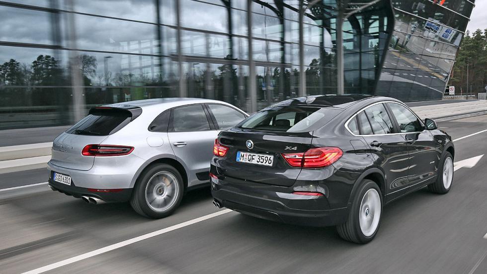 Cara a cara: Porsche Macan S vs. BMW X4 xDrive35i zagas