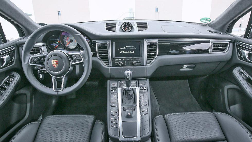 Porsche Macan S detalle interior