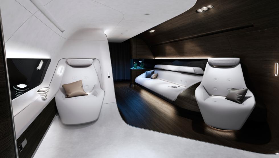 cabina avion mercedes y lufthansa 7