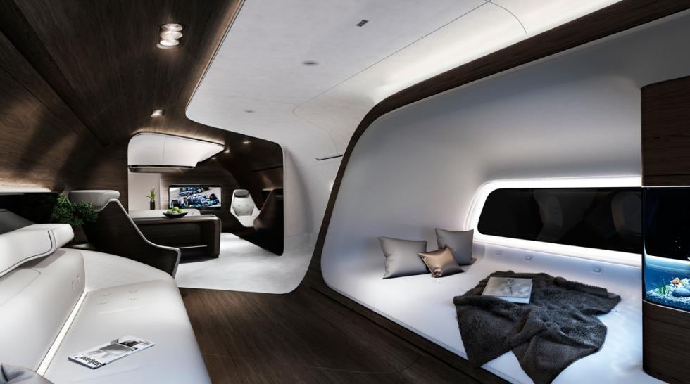 cabina avion mercedes y lufthansa 5