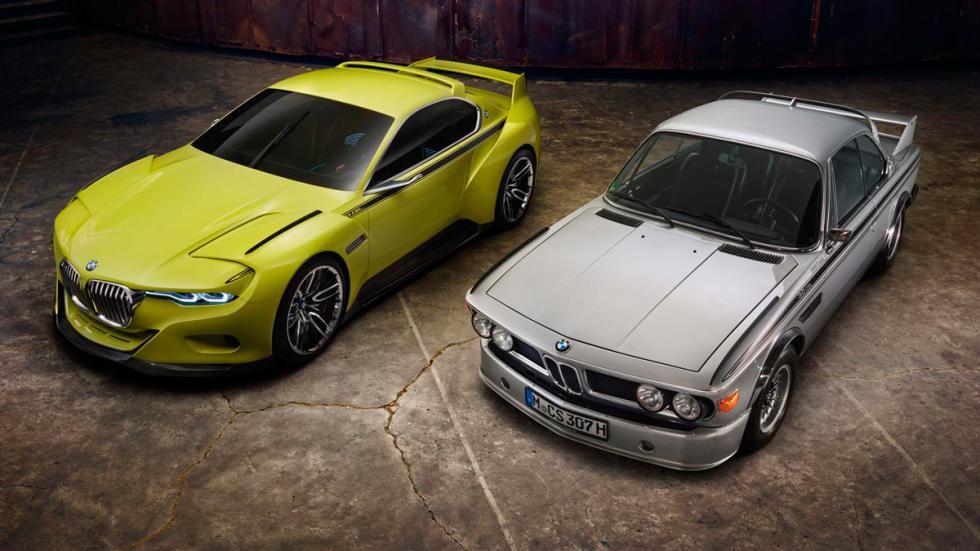 BMW 3.0 CSL Hommage generaciones