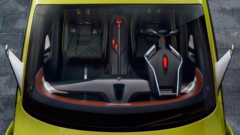 BMW 3.0 CSL Hommage asientos