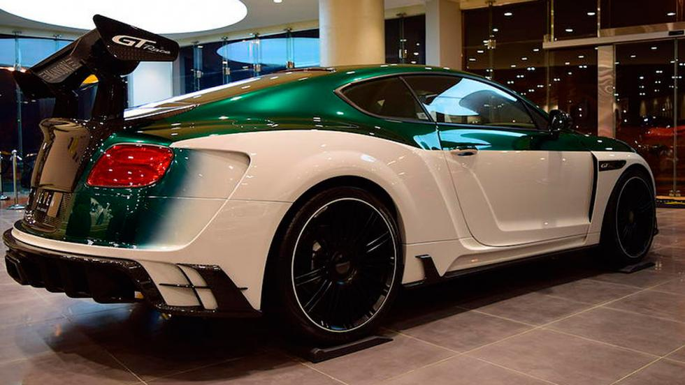 Mansory Continental GT Race perfil
