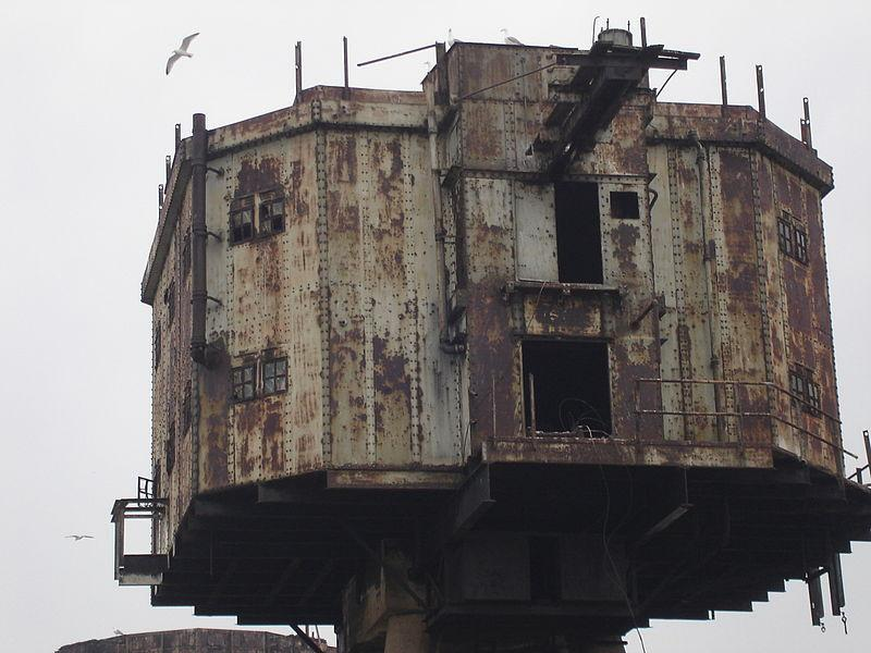 Fortaleza marina Maunsel en Inglaterra.