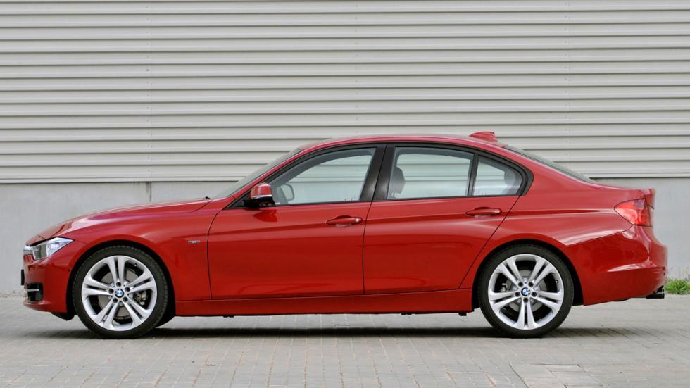 diferencias BMW Serie 3 lateral viejo