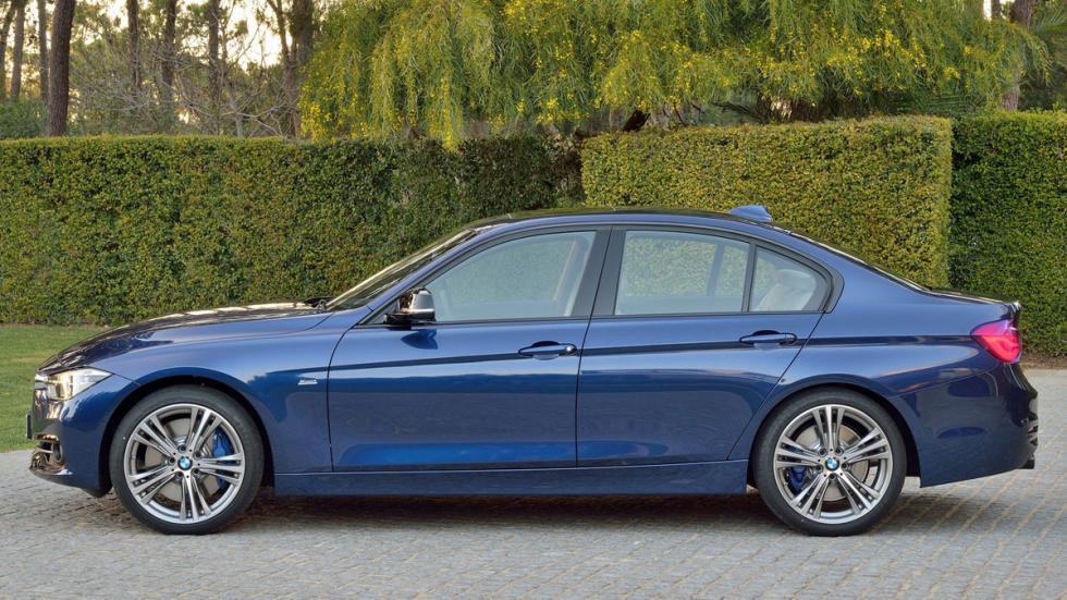 diferencias BMW Serie 3 lateral nuevo