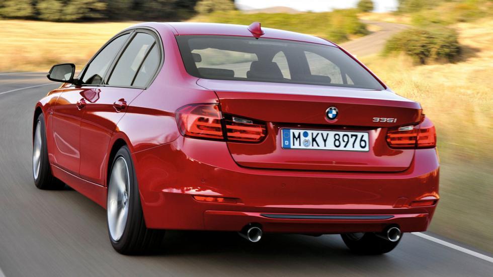 diferencias BMW Serie 3 trasera viejo
