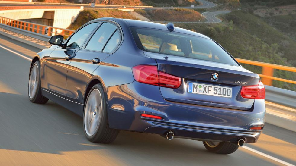 diferencias BMW Serie 3 trasera nuevo