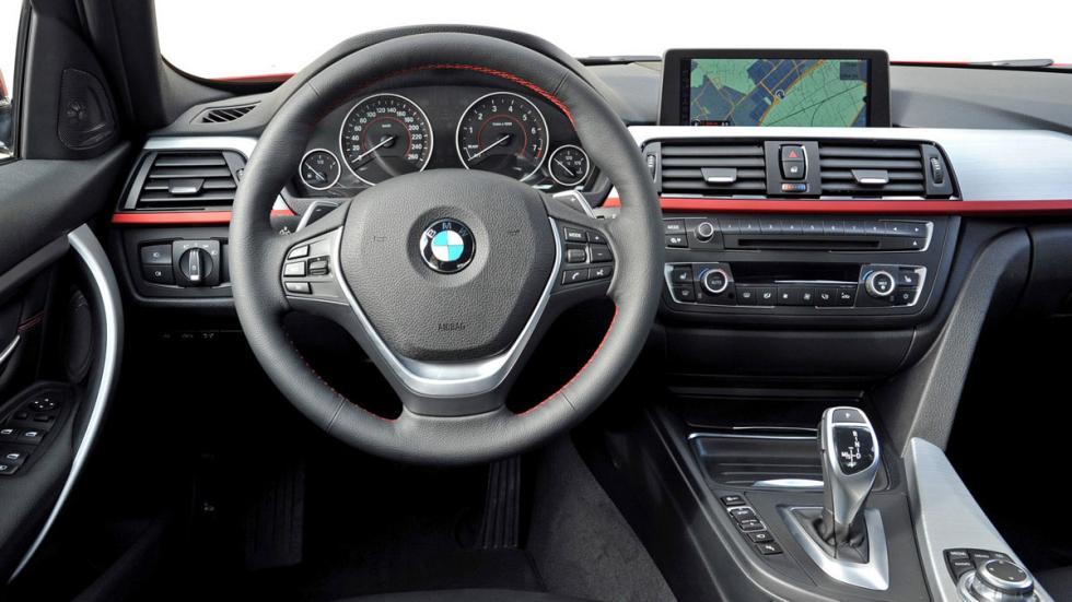 diferencias BMW Serie 3 interior viejo