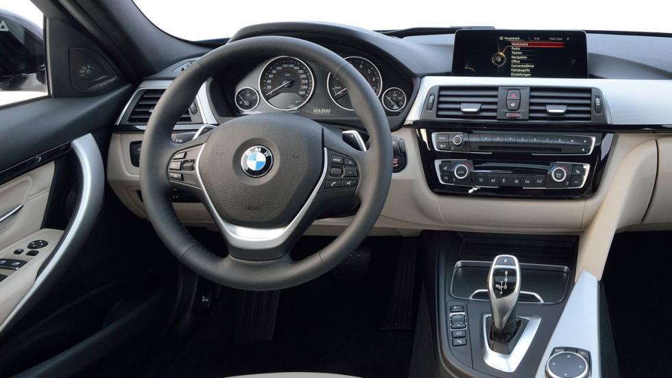 diferencias BMW Serie 3 interior nuevo