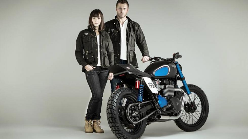 Triumph Barbour BIT1
