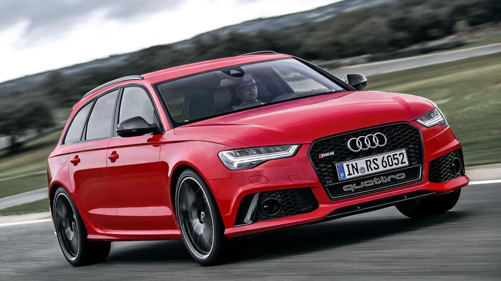 Prueba por el carril izquierdo: nuevo Audi RS 6 Avant morro