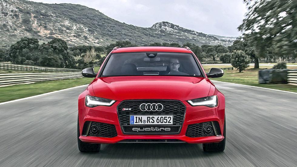 Prueba por el carril izquierdo: nuevo Audi RS 6 Avant parrilla