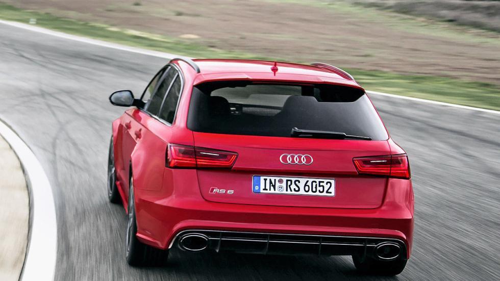 Prueba por el carril izquierdo: nuevo Audi RS 6 Avant porton
