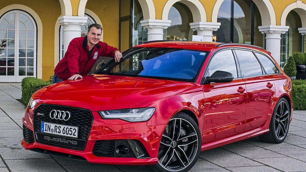 Prueba por el carril izquierdo: nuevo Audi RS 6 Avant redactor