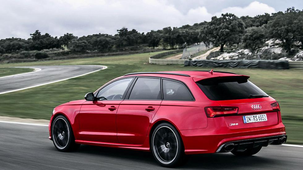 Prueba por el carril izquierdo: nuevo Audi RS 6 Avant carretera