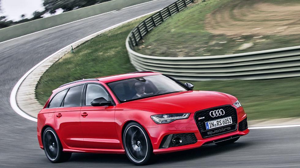 Prueba por el carril izquierdo: nuevo Audi RS 6 Avant circuito