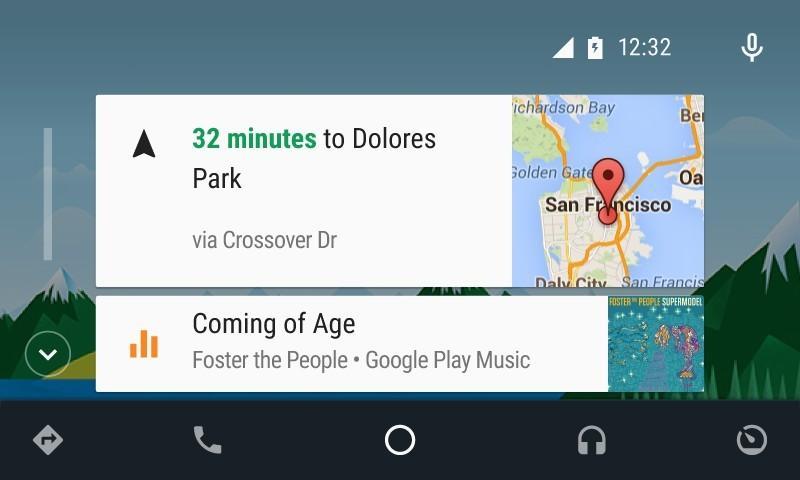 Android Auto reduce las distracciones al volante.