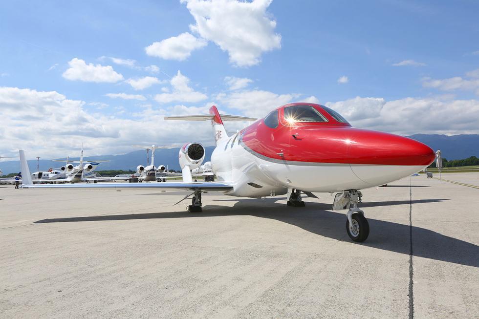 avion de honda iniciará una gira de exhibición por Europa