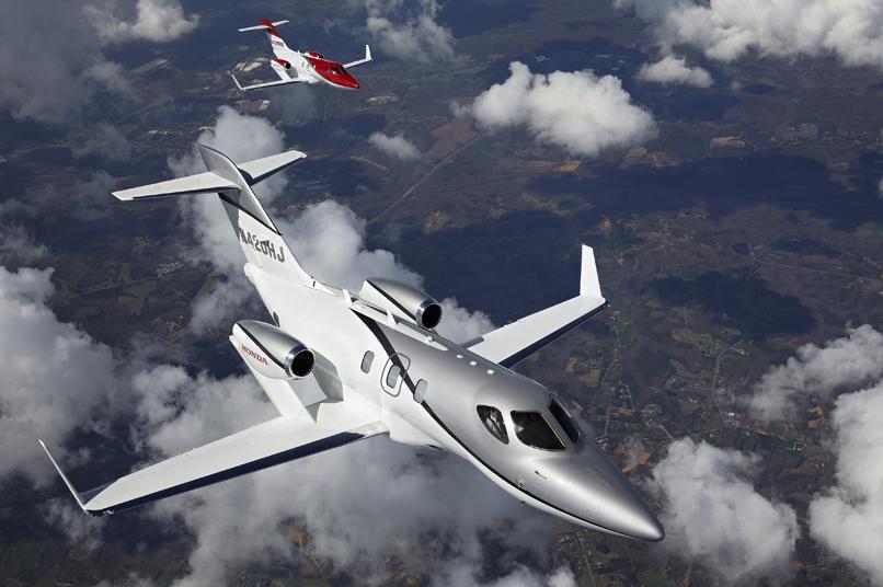 avion de honda, el avión más ligero del mundo