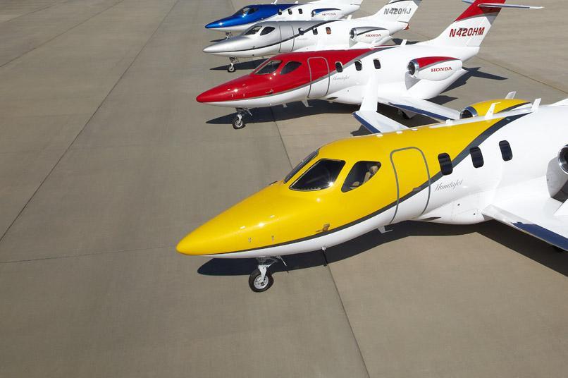 Más de 75 pasajeros volarán en el HondaJet
