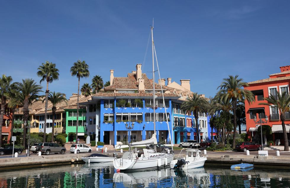 Puerto de Sotogrande en Cádiz