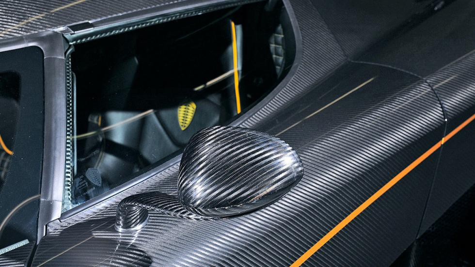 Koenigsegg One 1 espejo