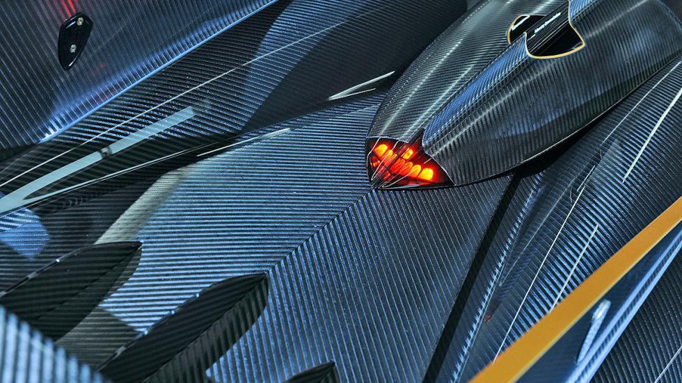 Koenigsegg One 1 detalle