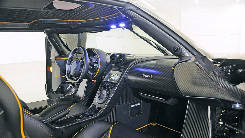 Koenigsegg One 1 interior general