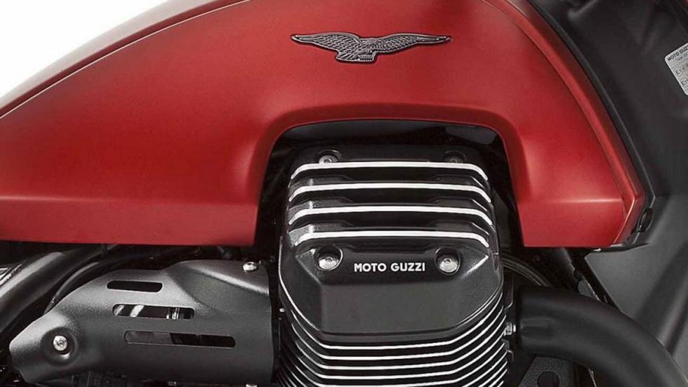 Motor de 1.380 cc para la Moto Guzzi Audace