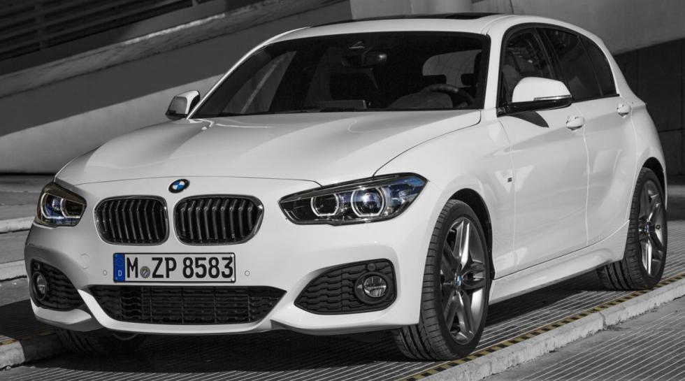 BMW 116d EfficientDynamics delantera