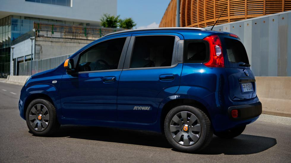 Fiat Panda K-Way trasera