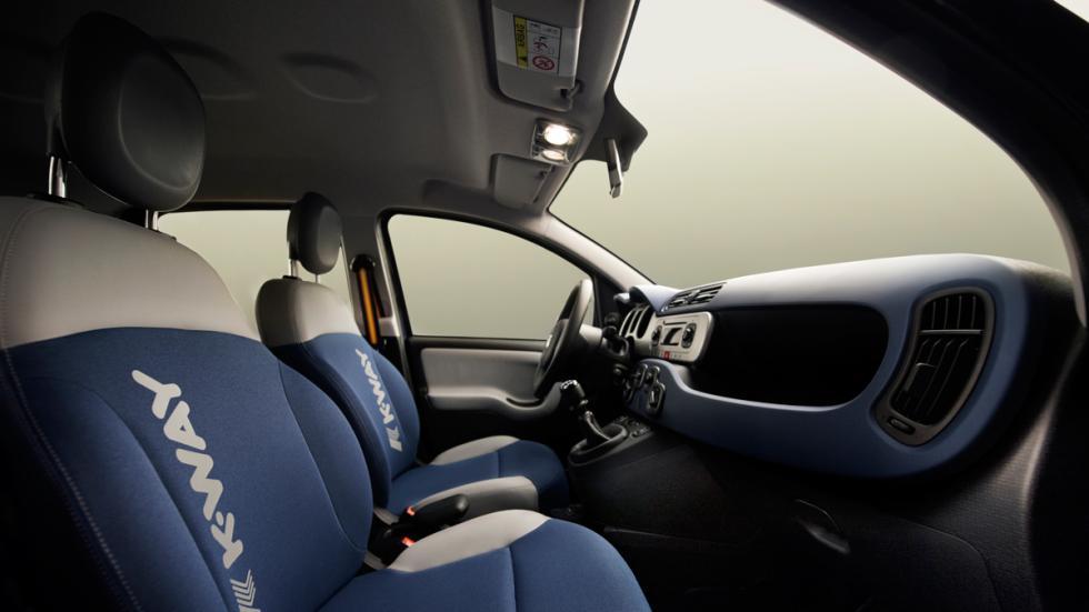 Fiat Panda K-Way asientos
