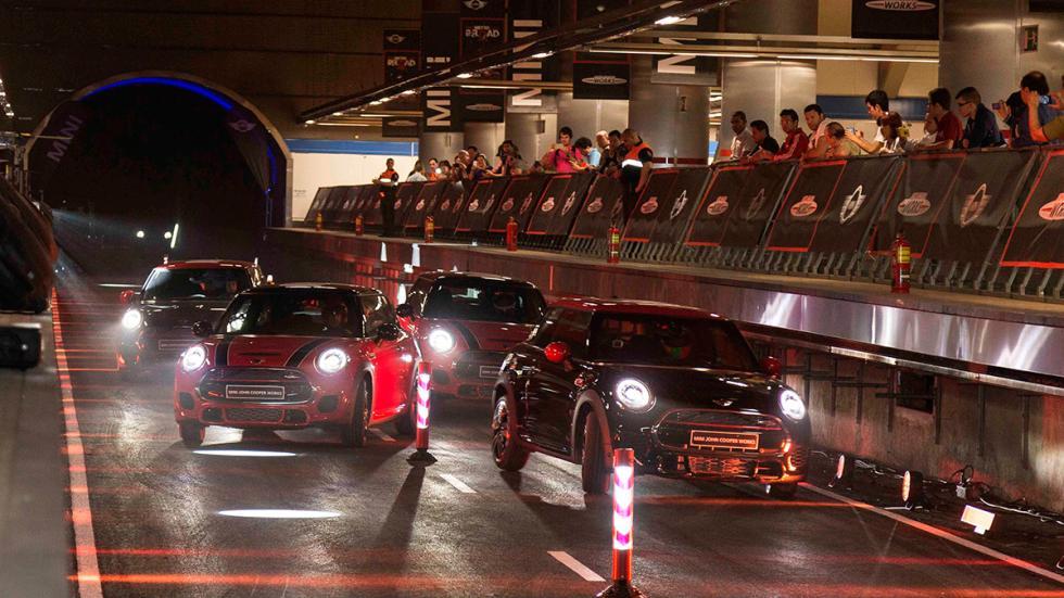 Mini Metro Race en la Estación de Chamartín