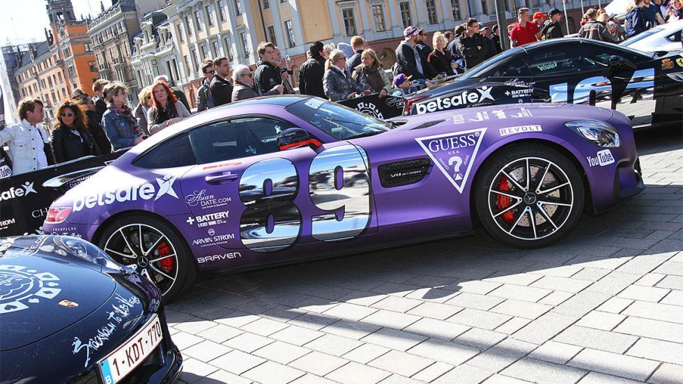 Los coches más espectaculares de la Gumball 300 de este año AMG GT