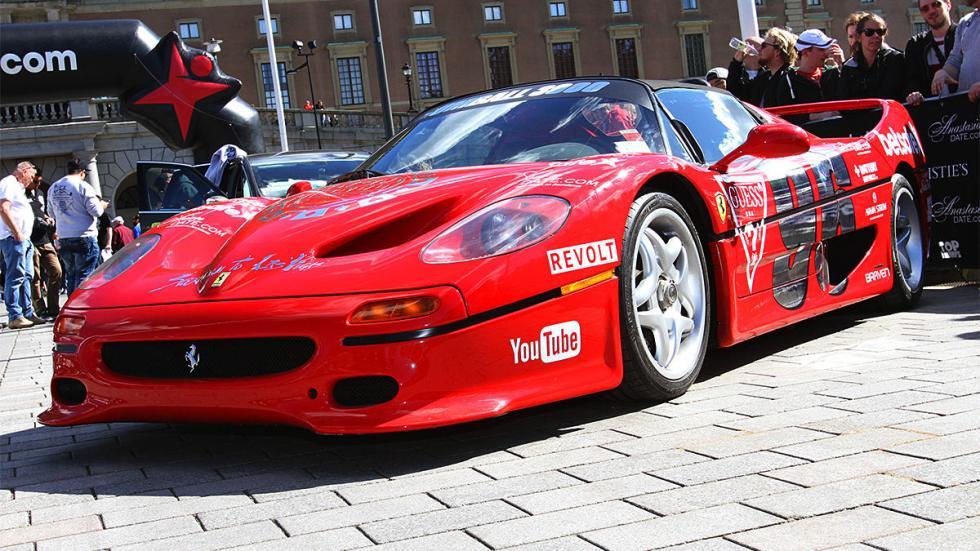 Los coches más espectaculares de la Gumball 300 de este año Ferrari F
