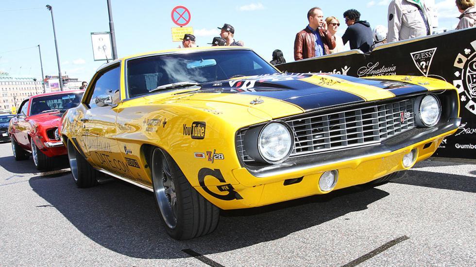 Los coches más espectaculares de la Gumball 300 de este año muscle car
