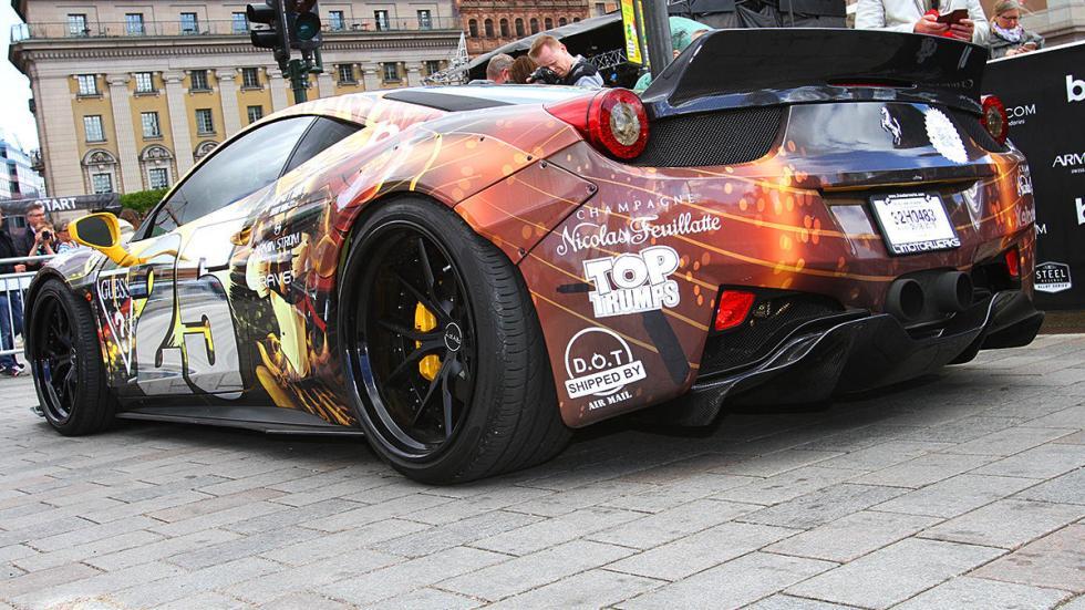 Un Ferrari con colores inesperados...