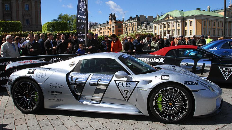 Los coches más espectaculares de la Gumball 3000 de 2015
