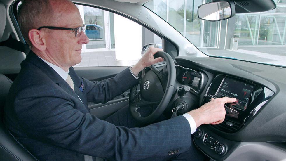 Opel Karl pantalla