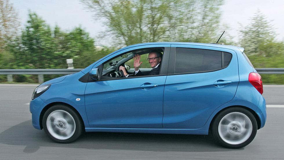 Opel Karl barrido