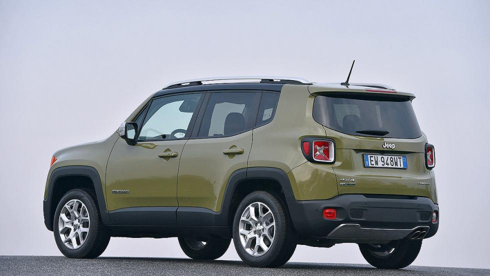 Jeep Renegade lateral zaga