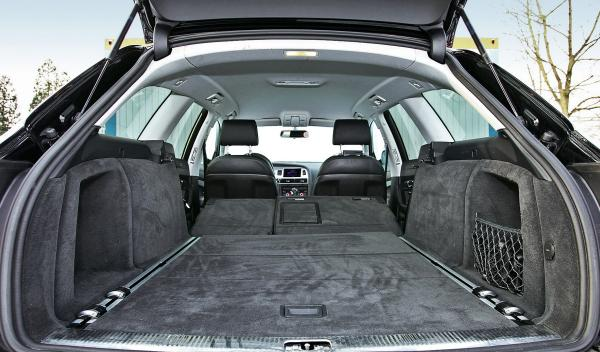 Audi A6 2.0 TDI Avant maletero