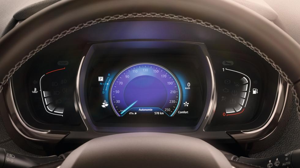 Renault Espace 2015 trasera en estático